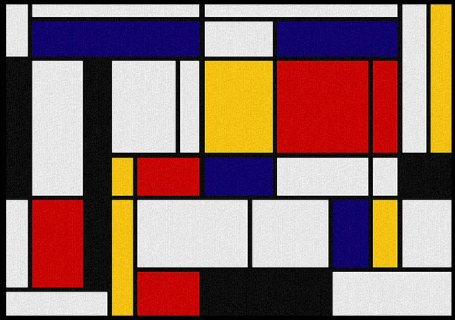 Mondrian Compostion With JavaScript